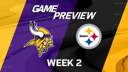 Steelers vs Vikings Preview