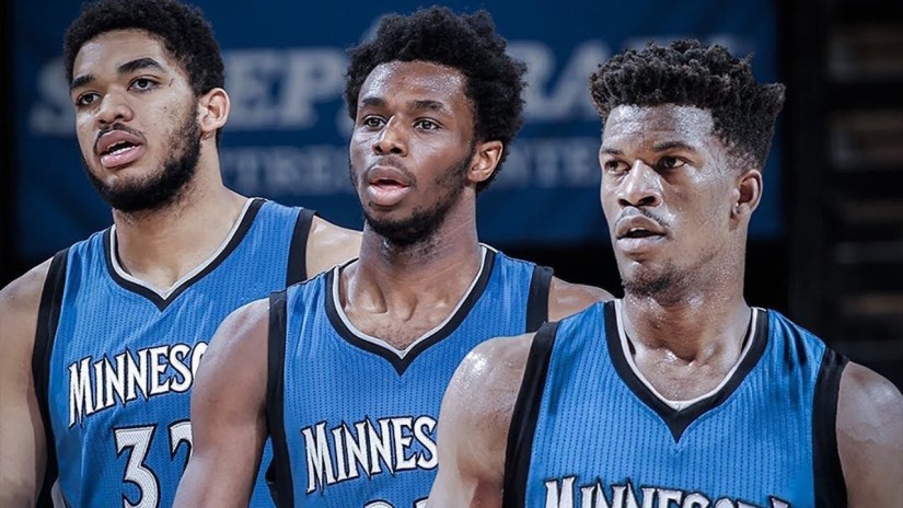 The Timberwolves with 3 All-Stars is Likely