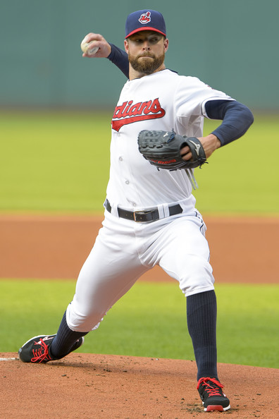 CY Young Favorite Corey Kluber Named AL Player of the Week