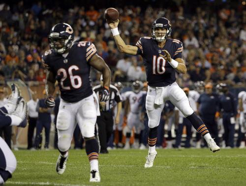 Bears look ahead to showdown inBaltimore