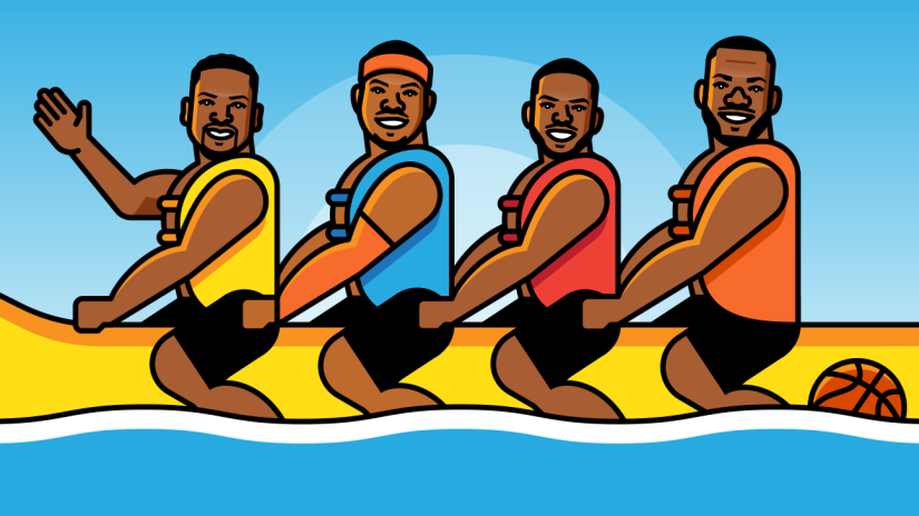 The Los Angeles Banana Boat Boys