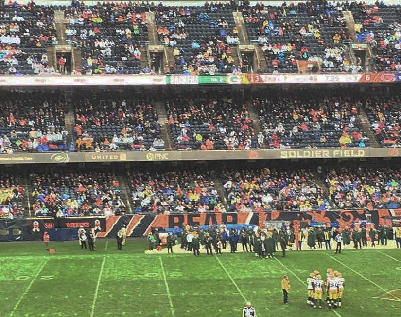 Soldier Field seeing more empties in game vs. rival GreenBay