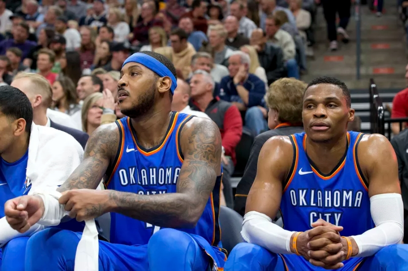 """Should we be worried about OKC's """"Big3""""?"""